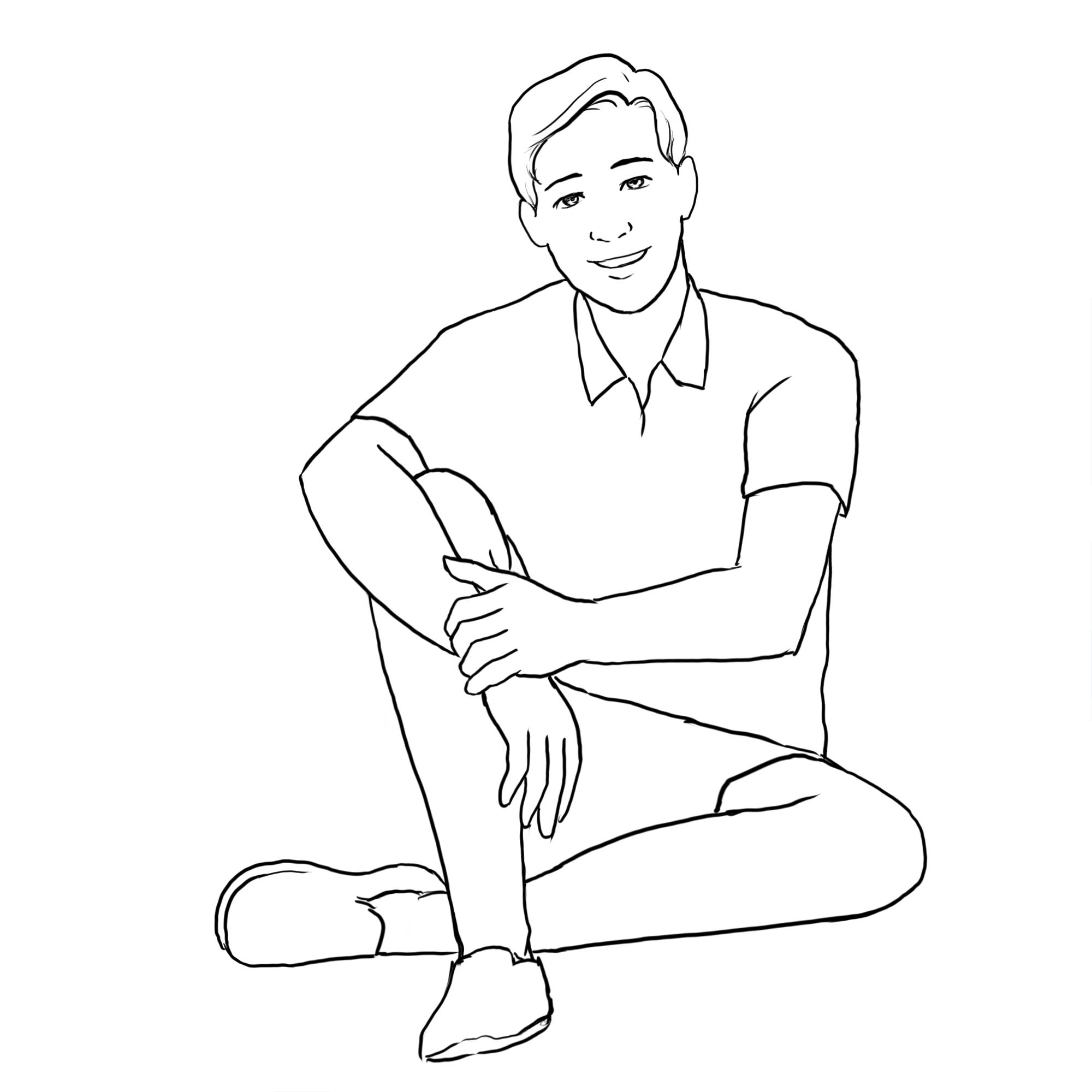 Vividsaaga Groom Posing Guide 20